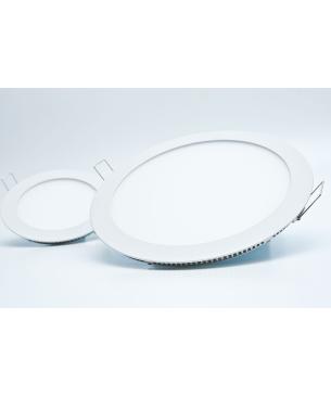 Paneles LED redondo de Incrustar Blanco