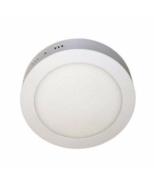 Paneles LED redondo de sobreponer Blanco