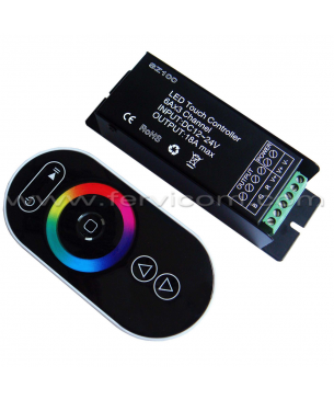 Controlador RGB 18 Amp Touch
