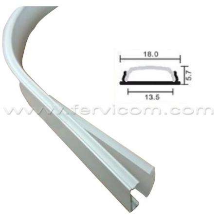 Perfil Aluminio Flex 1306