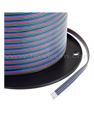Cable RGB 4 Hilos 22AWG