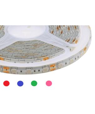 Cinta Led ECO 5050 Siliconada Colores