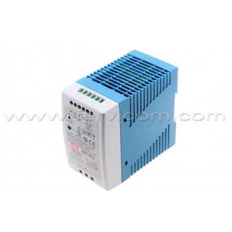 12V@7,5 Amp Mean Well MDR-100-12