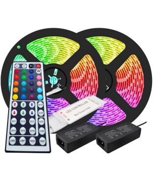 Kit 10mts Cinta LED RGB +...