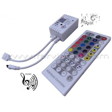 Controlador RGB Musical Wifi 6 Amp