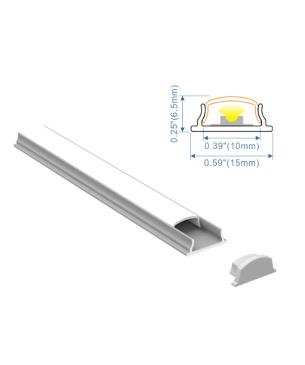 Perfil Aluminio Flex 1506