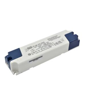 500mA@30-50V Driver LED Mean Well PLM-25-500