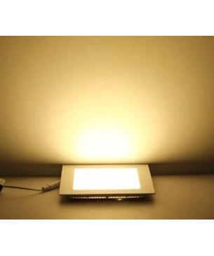 Paneles LED cuadrado de Incrustar Cálido