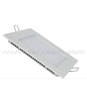 Paneles LED cuadrado de Incrustar Blanco