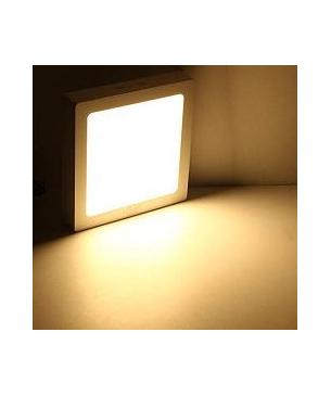 Paneles LED cuadrado de sobreponer Calido