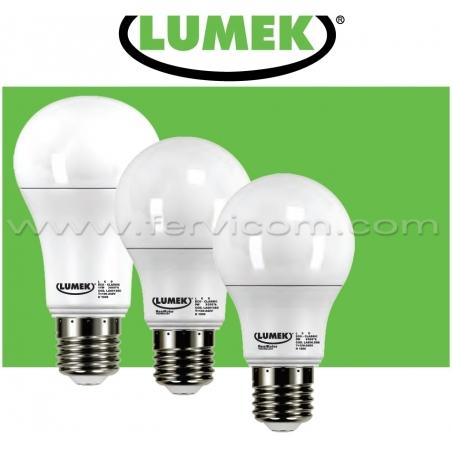 Bombillo LED tradicional Calido Lumek