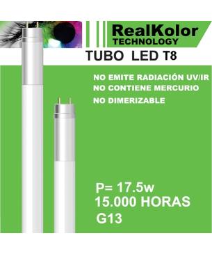 Tubo Led 120 cm Blanco Lumek