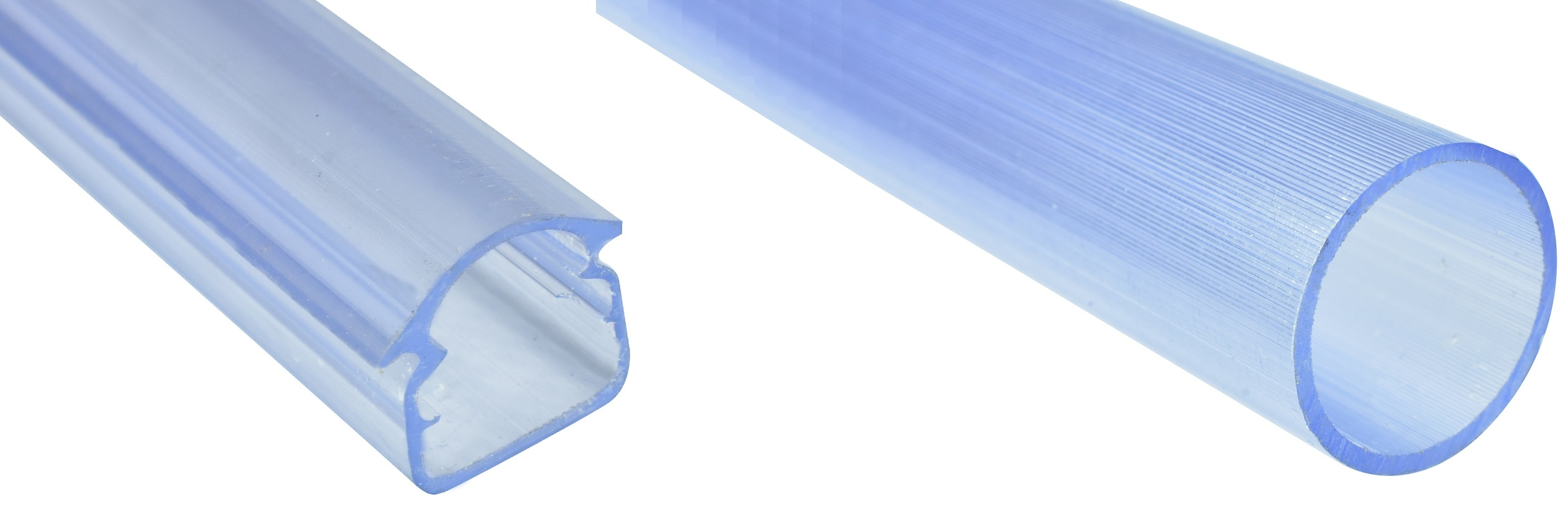 Perfiles y tubos PVC