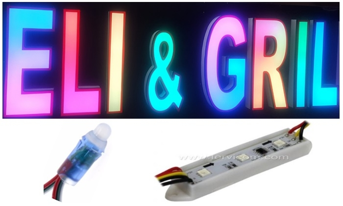 Modulos RGB y Pixel